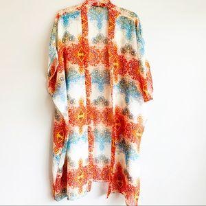 Atmosphere Long Boho Kimono
